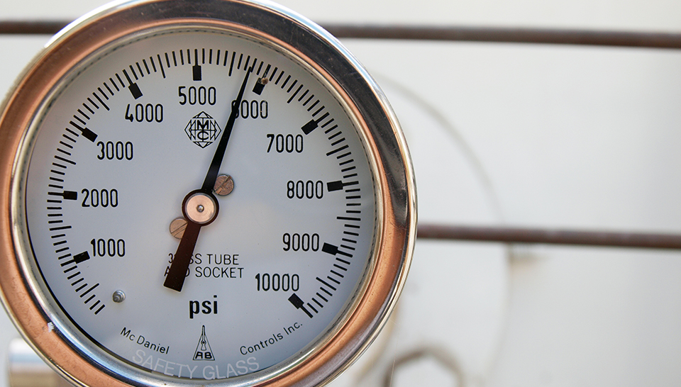 Hydrogen gauge