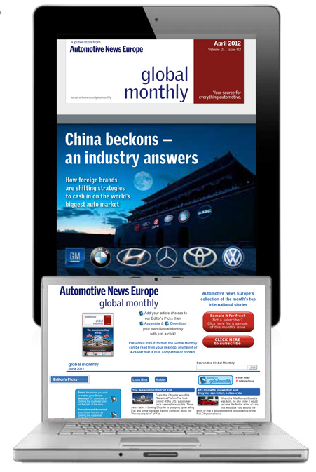 Automotive News Europe Global Monthly