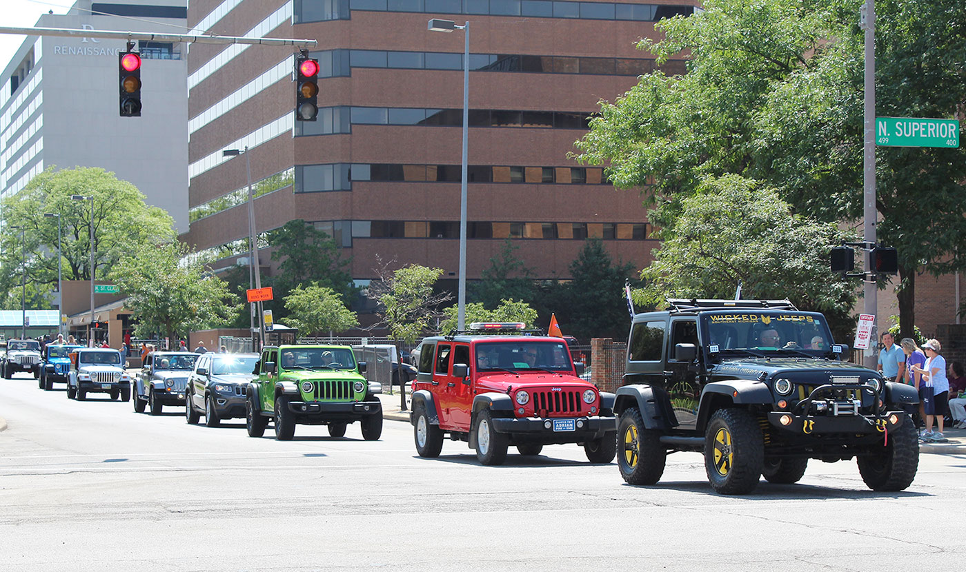 toledo ohio jeep s hometown puts on a show toledo ohio jeep s hometown puts