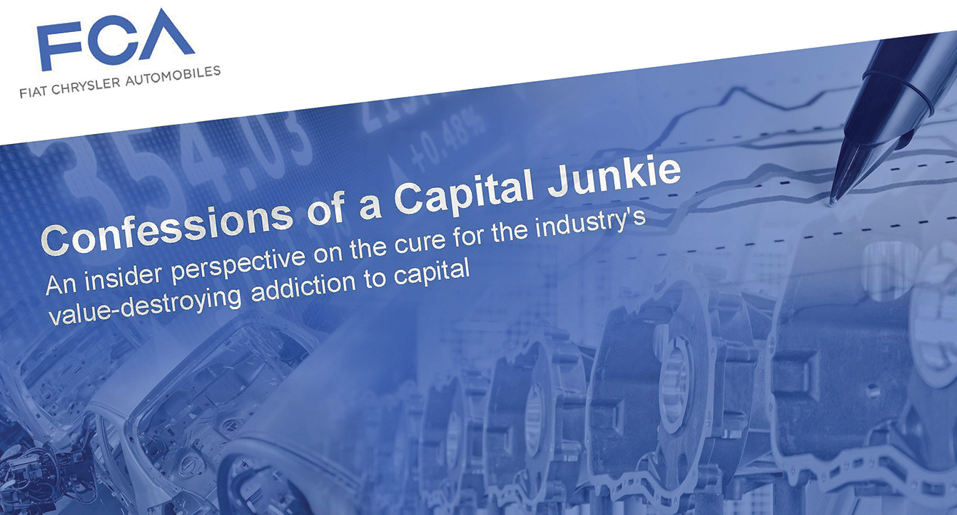 Confessions of a Capital Junkie