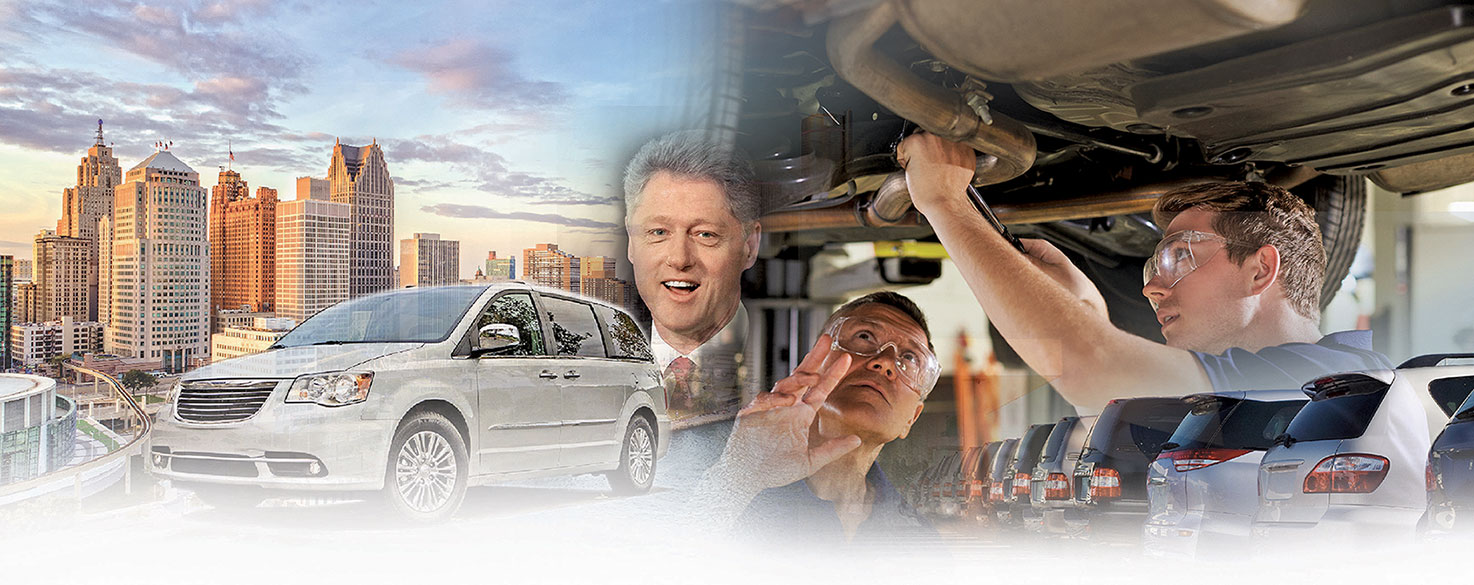 Treece's time covering the auto industry