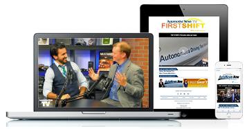 The newly redesigned autonews.com