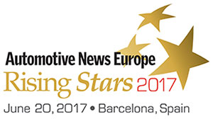 2016 Automotive News Europe Rising Stars
