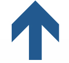 Blue Arrow Up