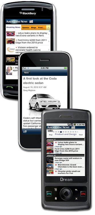Automotive News Mobile App