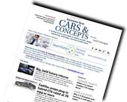 Cars and Concepts Newsletter