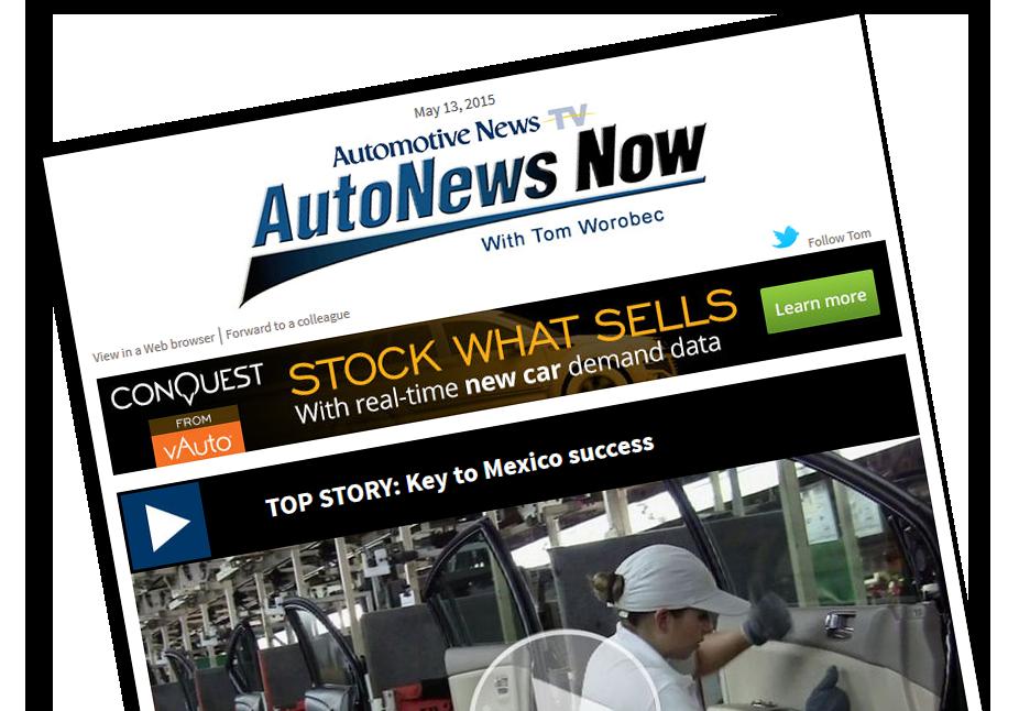 Automotive News Selects BMW NA CEO As 2015 All-Star. | BMW Car ...